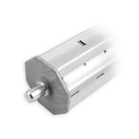 Verlängerungsstück Ø 60 mm | 350 mm Lang | für SW 60 Achtkant-Stahlwelle | mit Kapsel
