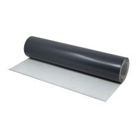 X-READY Bleitapete | 0,5 x 620 x 10000 mm | Sichtseite grau lackiert | Rückseite mit Klebeschicht | Bleifolie für Strahlenschutz u. Schallschutz