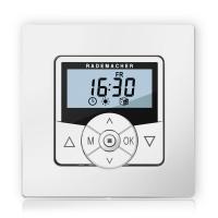Zeitschaltuhr Troll Comfort 5625 | mit Rahmen | Ultraweiß